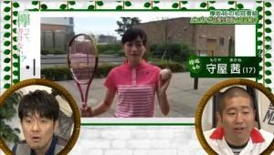 守屋茜テニス