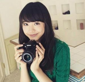 松井愛莉黒髪2