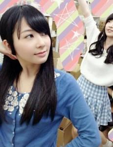 女子高生スタイルの種田梨沙さん