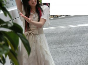 喜多村英梨さんのコスチューム