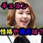 Twiceチェヨンの性格や彼氏の噂とは?ロングヘアーがかわいい!