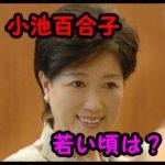 小池百合子は若い頃の髪型画像がかわいい?結婚して夫がいる?
