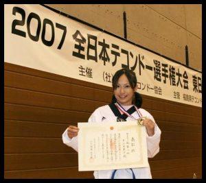 井上由美子プロレス2